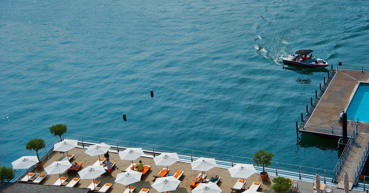 Private Beach In Bellagio On Lake Como T Beach Grand