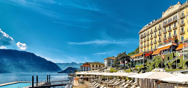 Luxury 5 Star Hotel On Lake Como Near Bellagio Grand Hotel Tremezzo